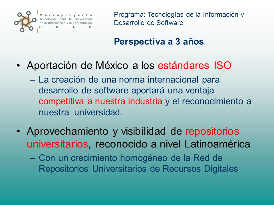 Aportación de México a los estándares ISO