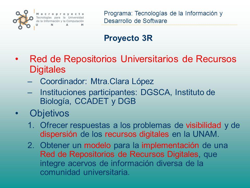 Red de Repositorios Universitarios de Recursos Digitales