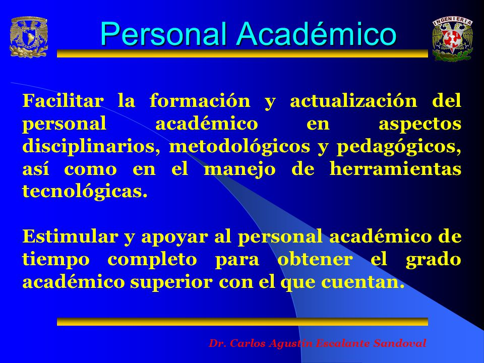 Personal Académico