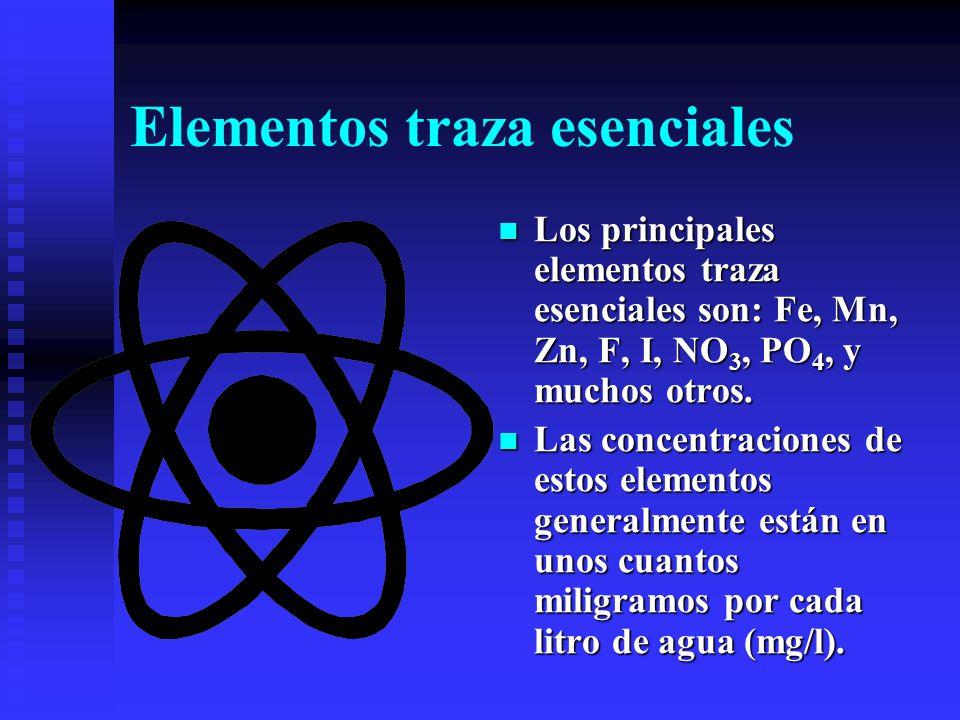 Elementos traza esenciales