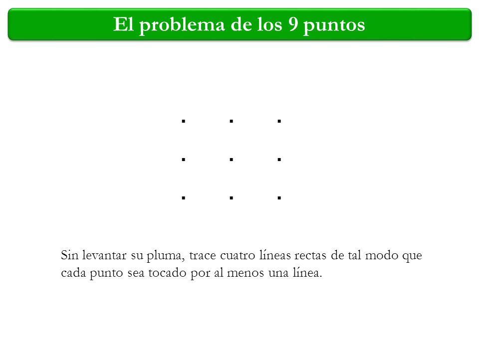El problema de los 9 puntos