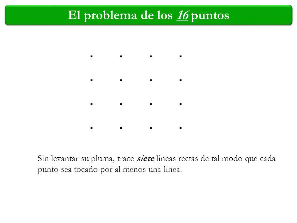 El problema de los 16 puntos