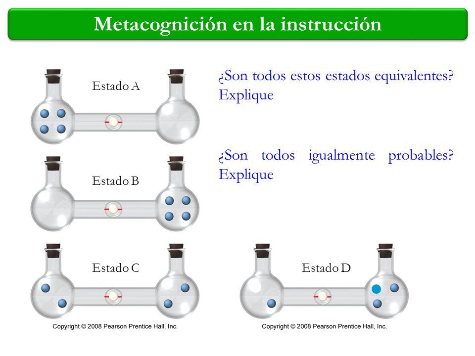 Metacognición en la instrucción