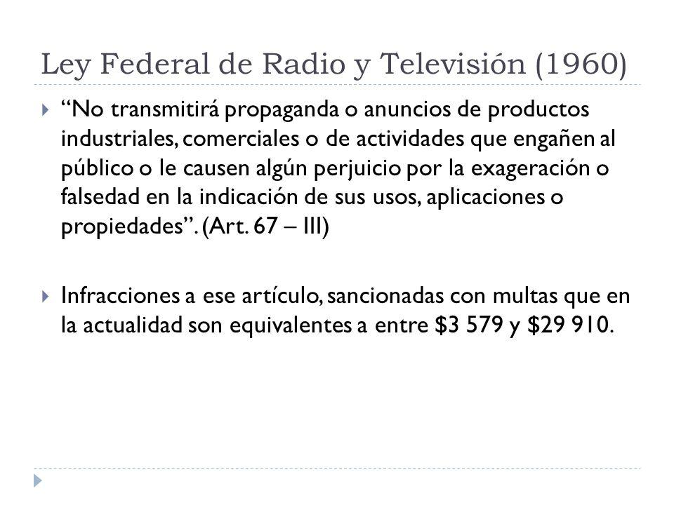 Ley Federal de Radio y Televisión (1960)