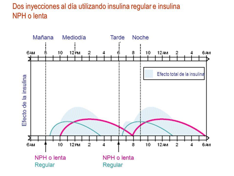Efecto total de la insulina