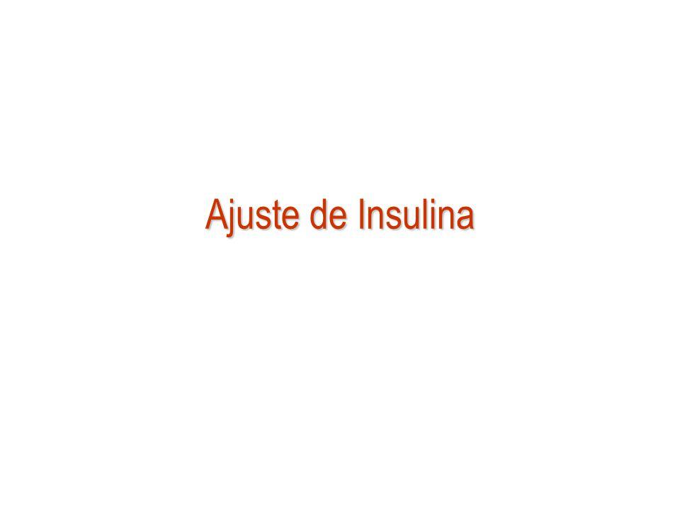 Ajuste de Insulina