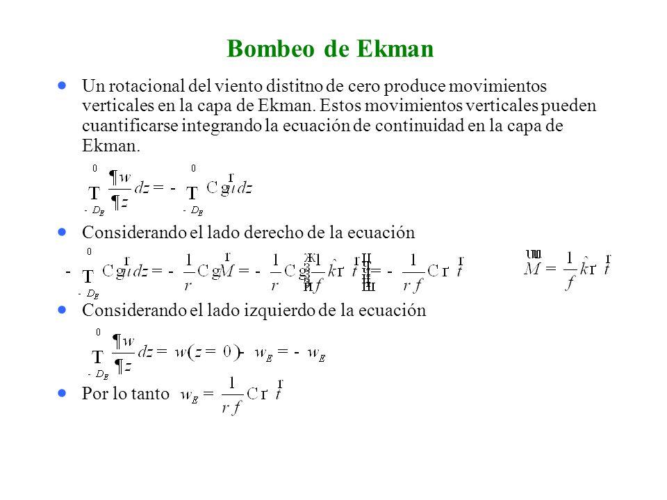 Bombeo de Ekman