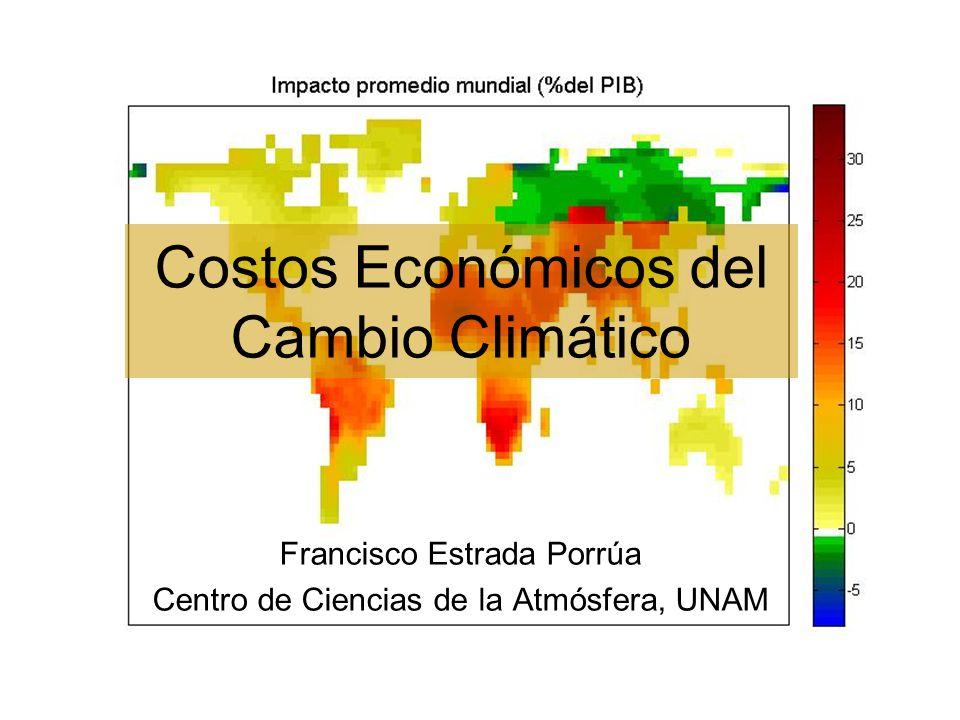 Costos Económicos del Cambio Climático