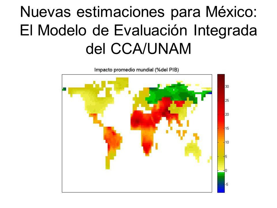 Nuevas estimaciones para México: El Modelo de Evaluación Integrada del CCA/UNAM