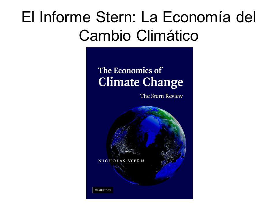 El Informe Stern: La Economía del Cambio Climático