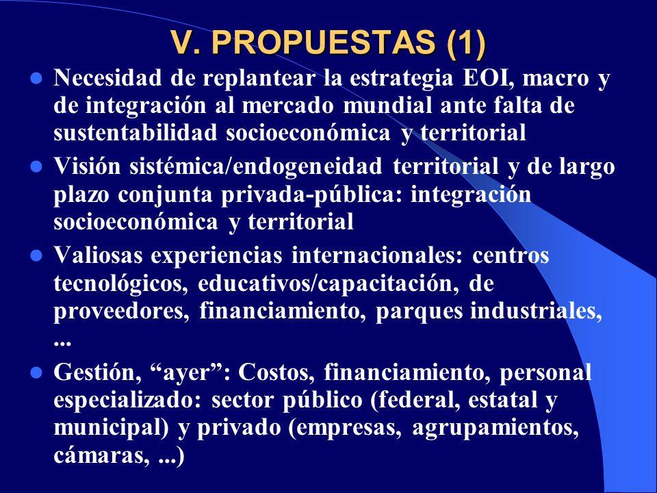 V. PROPUESTAS (1)