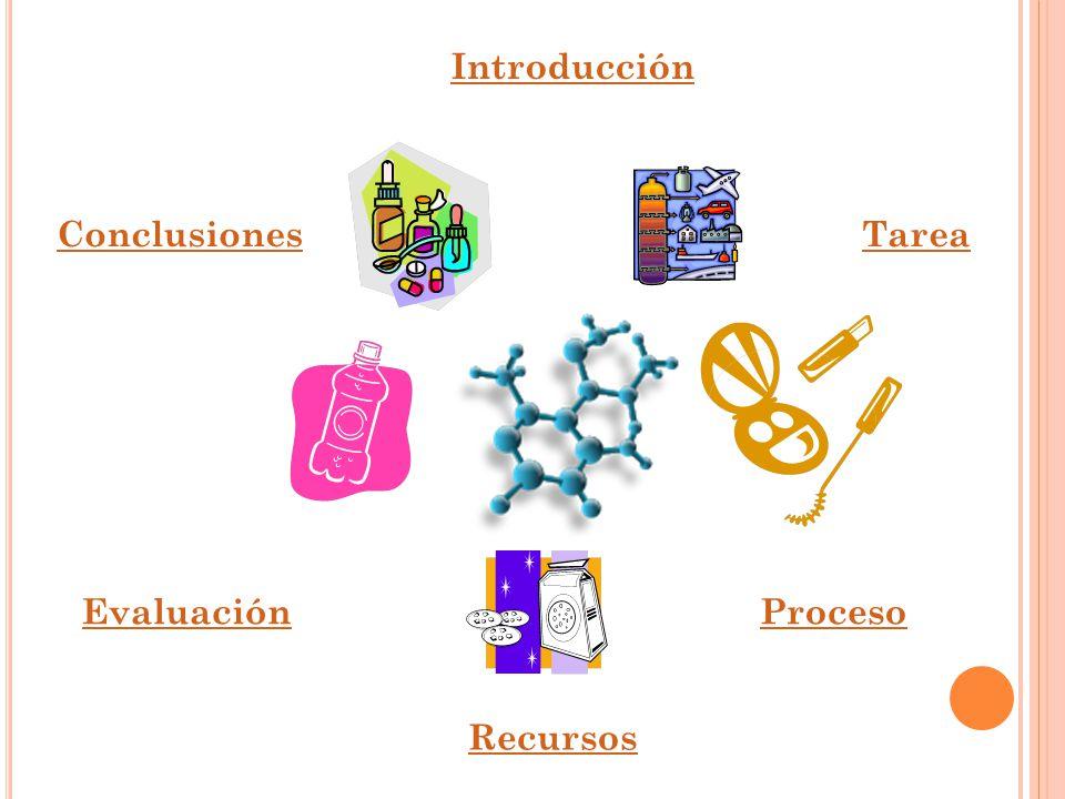 Introducción Conclusiones Tarea Evaluación Proceso Recursos