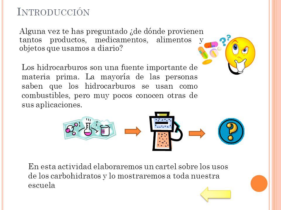 Introducción Alguna vez te has preguntado ¿de dónde provienen tantos productos, medicamentos, alimentos y objetos que usamos a diario
