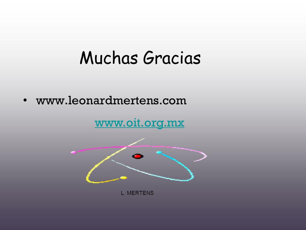 Muchas Gracias www.leonardmertens.com www.oit.org.mx