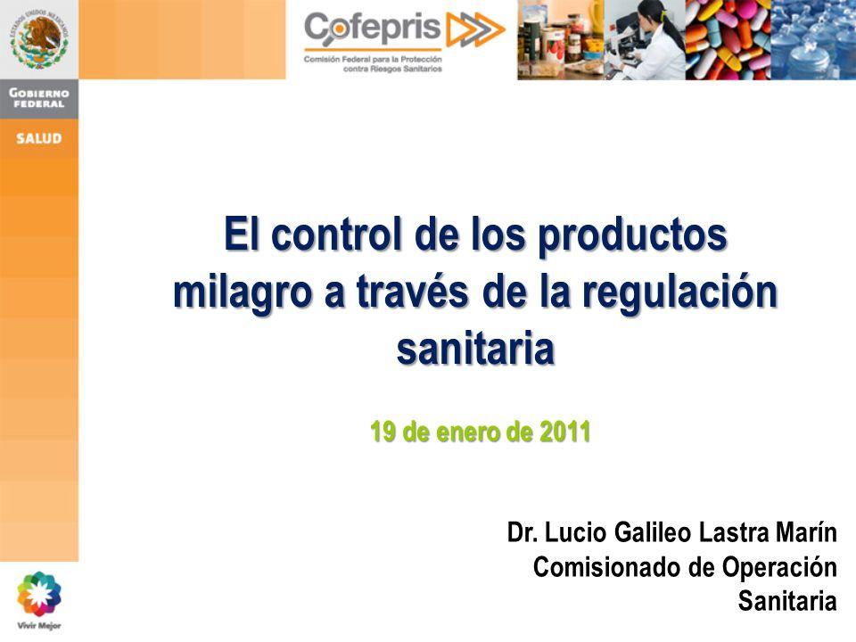El control de los productos milagro a través de la regulación sanitaria