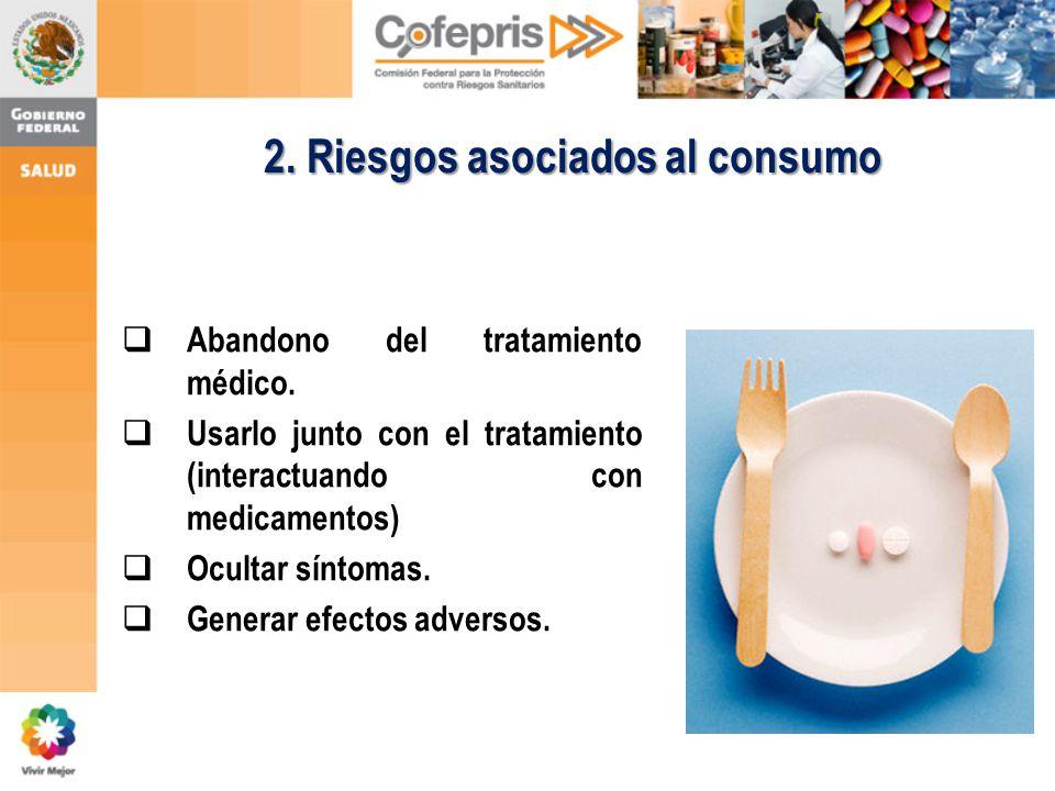2. Riesgos asociados al consumo