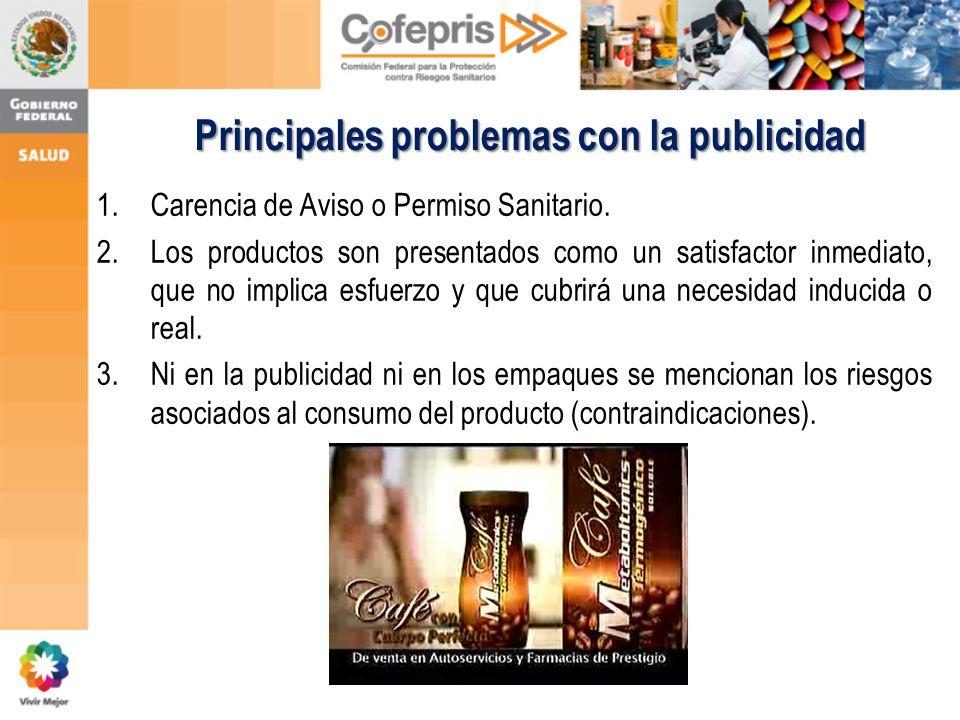 Principales problemas con la publicidad