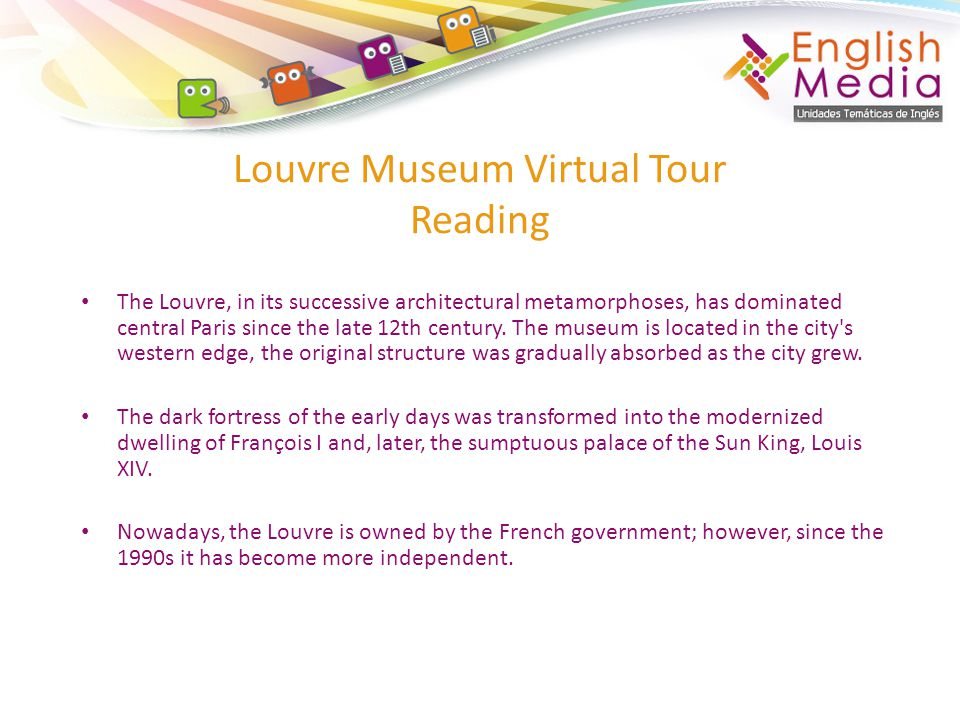Louvre Museum Virtual Tour Reading