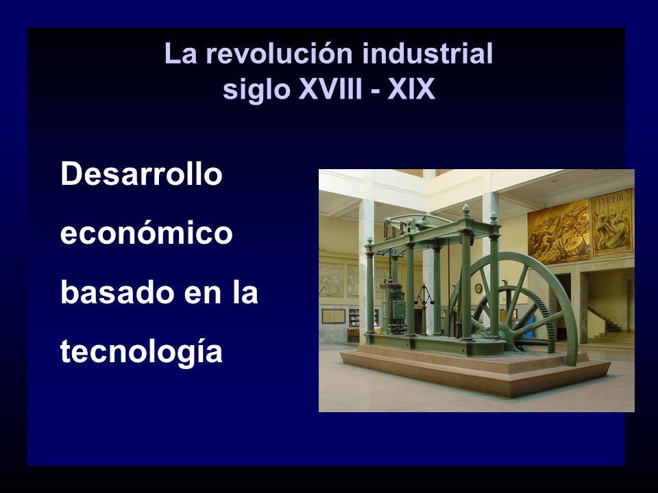 La revolución industrial siglo XVIII - XIX