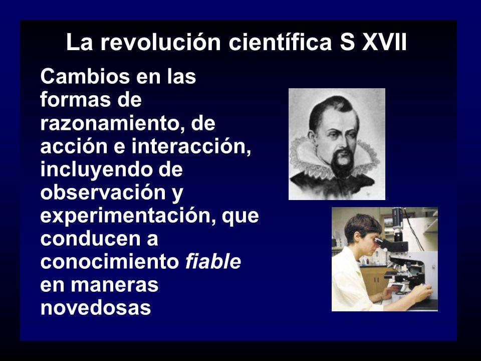 La revolución científica S XVII