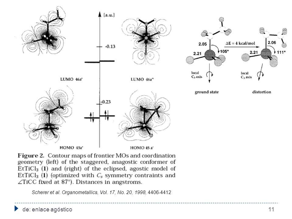 Scherer et al. Organometallics, Vol. 17, No. 20, 1998, 4406-4412