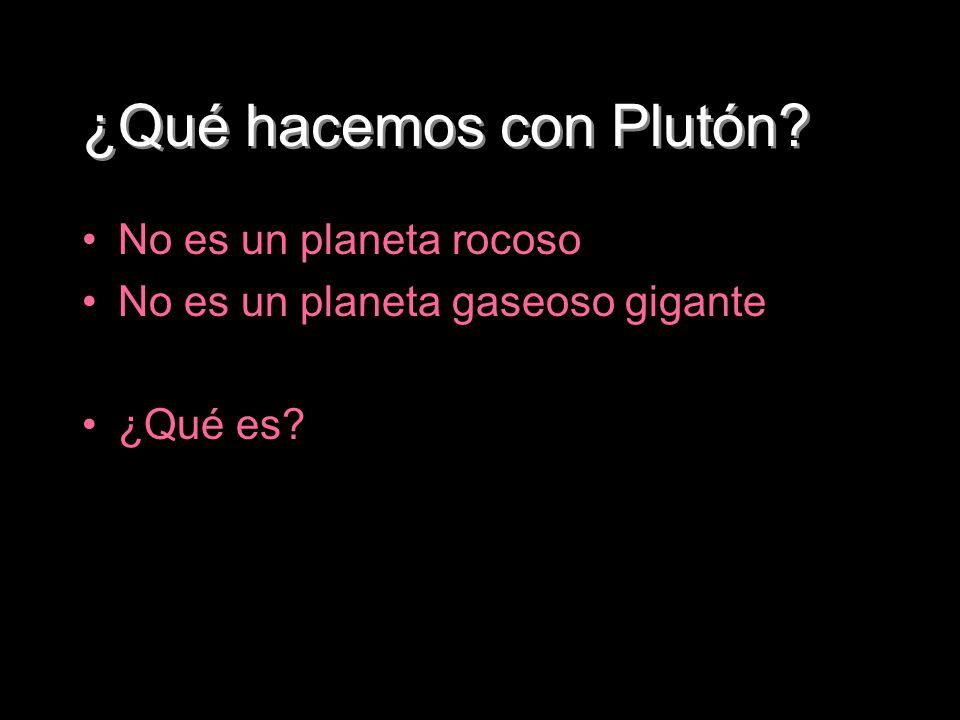 ¿Qué hacemos con Plutón