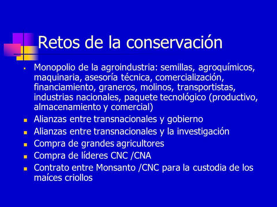 Retos de la conservación