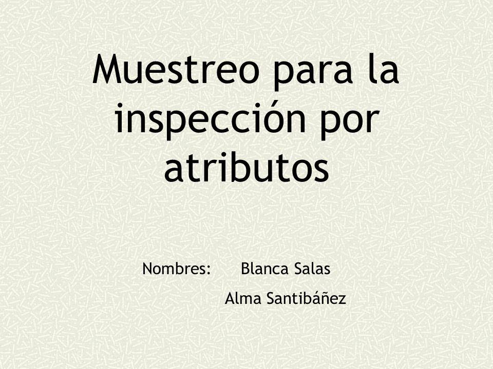 Muestreo para la inspección por atributos
