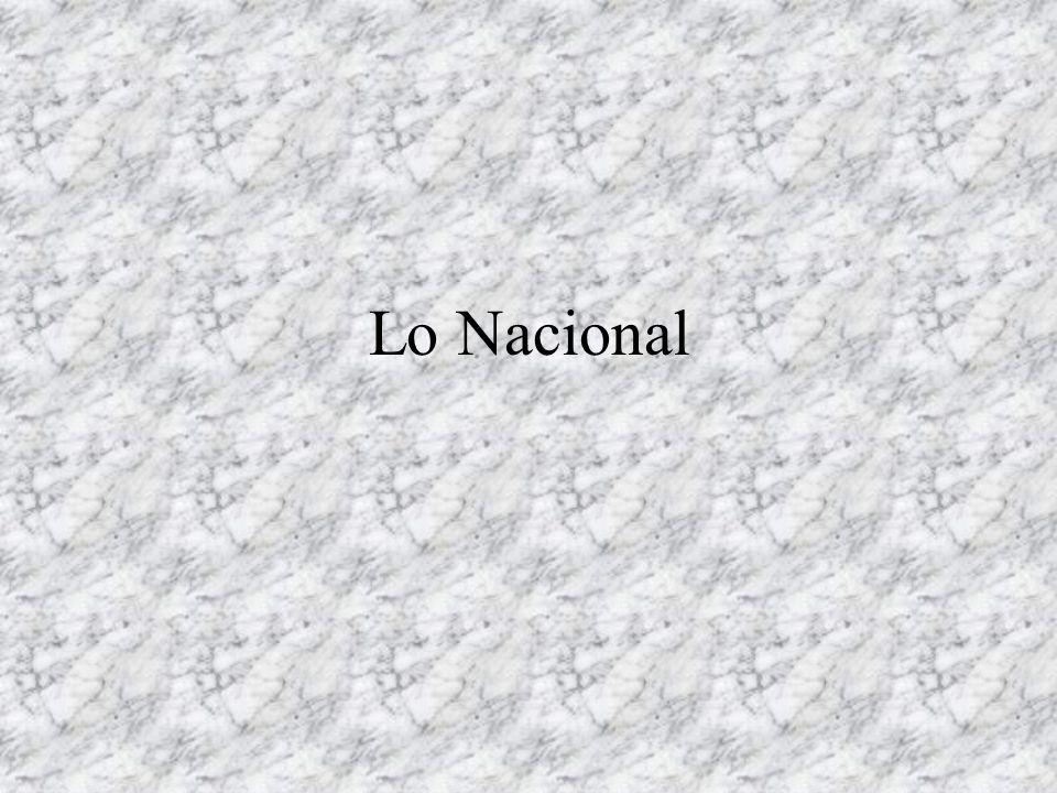 Lo Nacional
