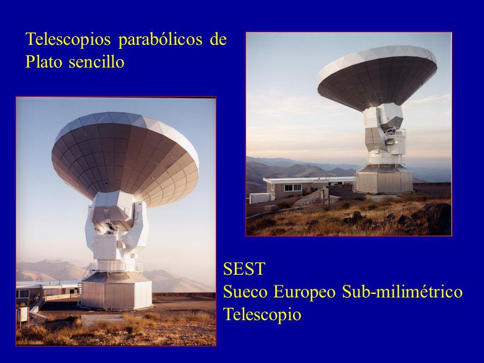 Telescopios parabólicos de