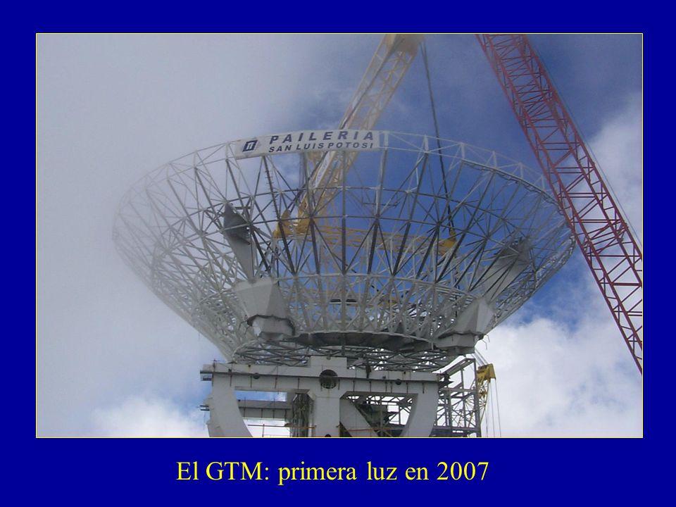 El GTM: primera luz en 2007
