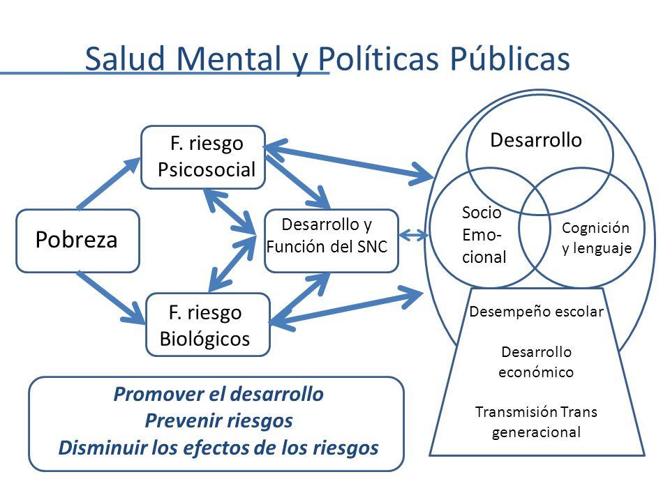Salud Mental y Políticas Públicas