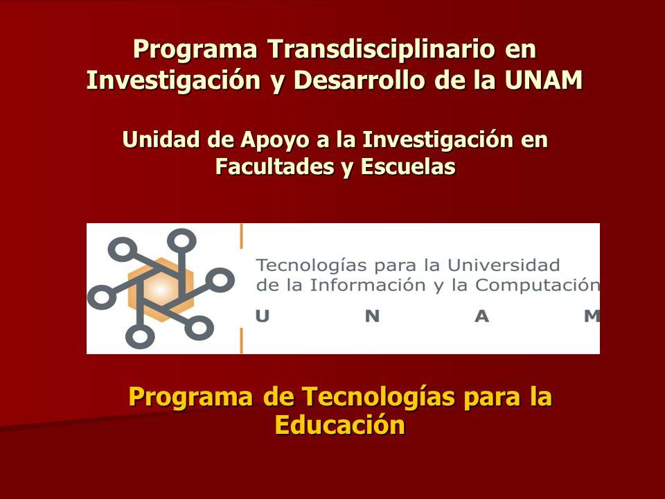 Programa de Tecnologías para la Educación