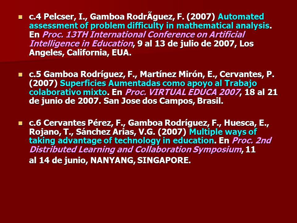 c. 4 Pelcser, I. , Gamboa Rodríguez, F