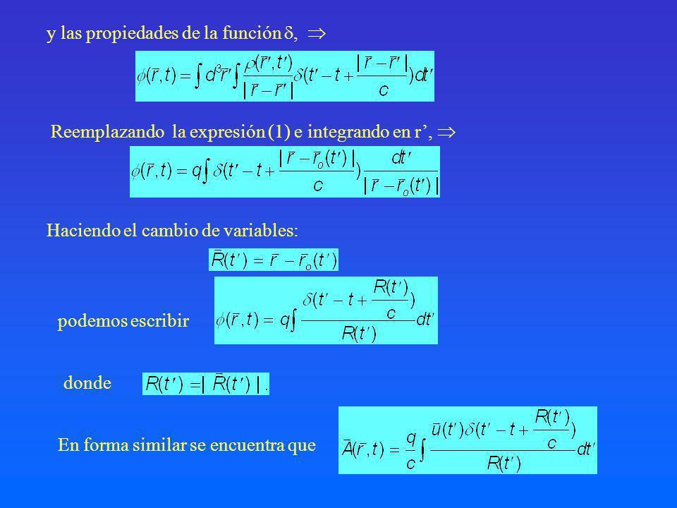 y las propiedades de la función , 