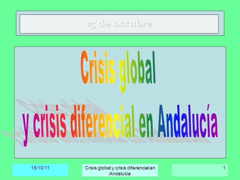 y crisis diferencial en Andalucía