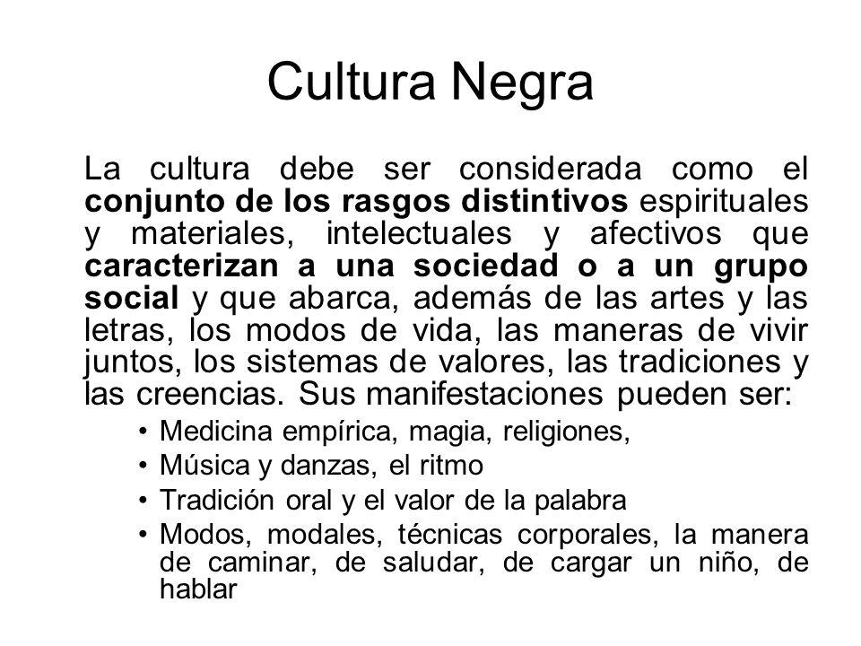 Cultura Negra