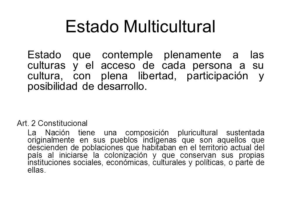 Estado Multicultural