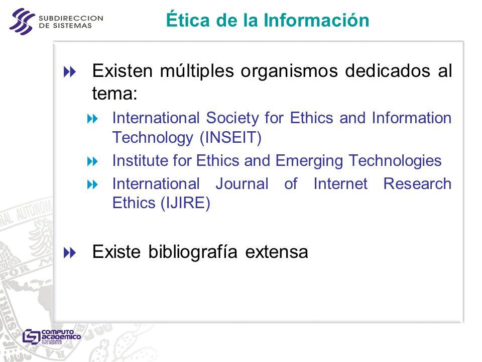 Ética de la Información