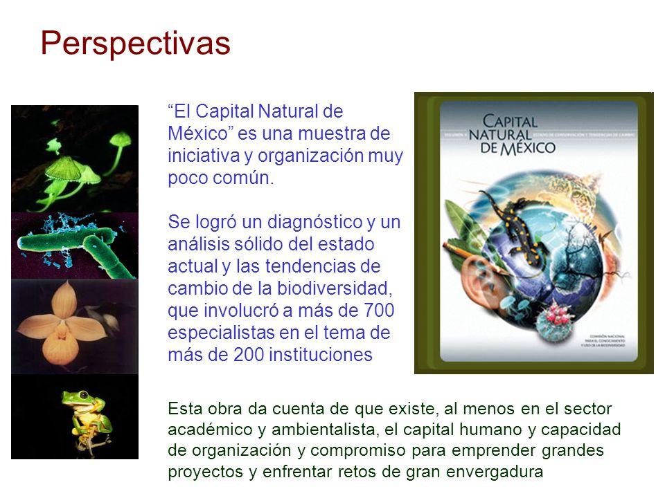 Perspectivas El Capital Natural de México es una muestra de iniciativa y organización muy poco común.
