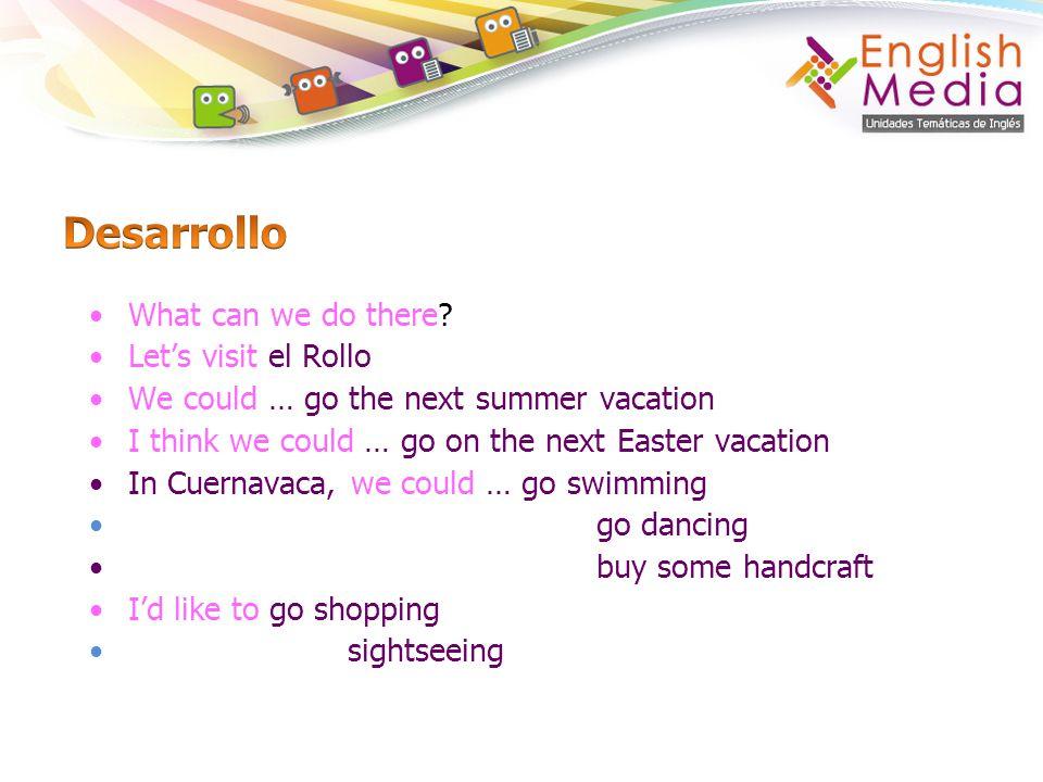 Desarrollo What can we do there Let's visit el Rollo