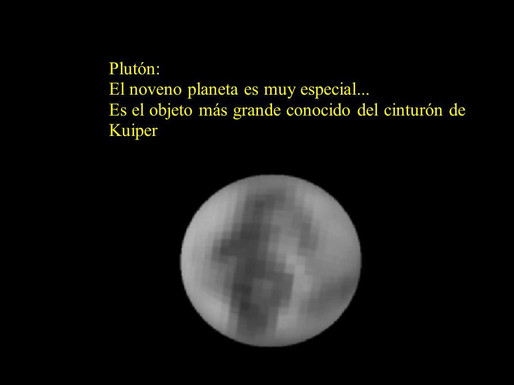 Plutón: El noveno planeta es muy especial...