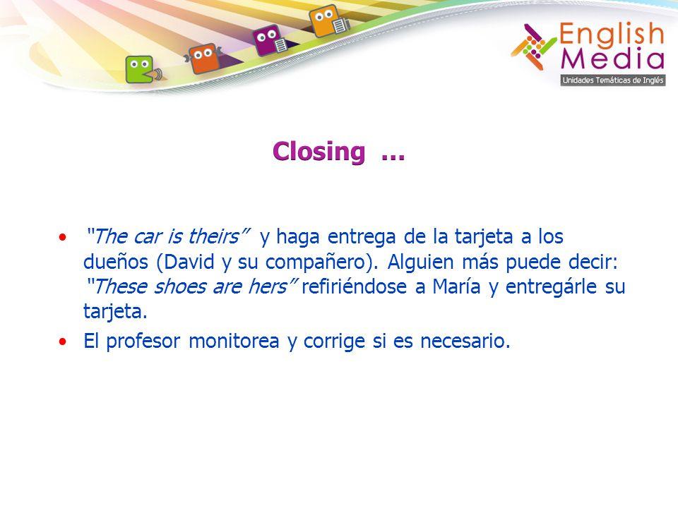Closing …