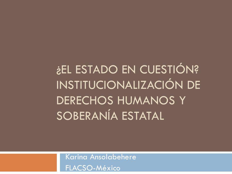 Karina Ansolabehere FLACSO-México