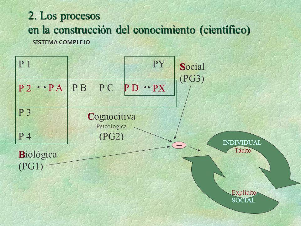 en la construcción del conocimiento (científico)