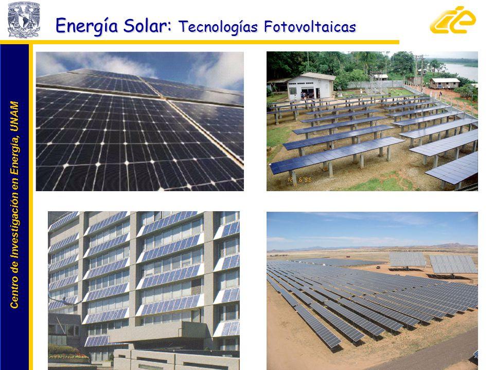 Energía Solar: Tecnologías Fotovoltaicas