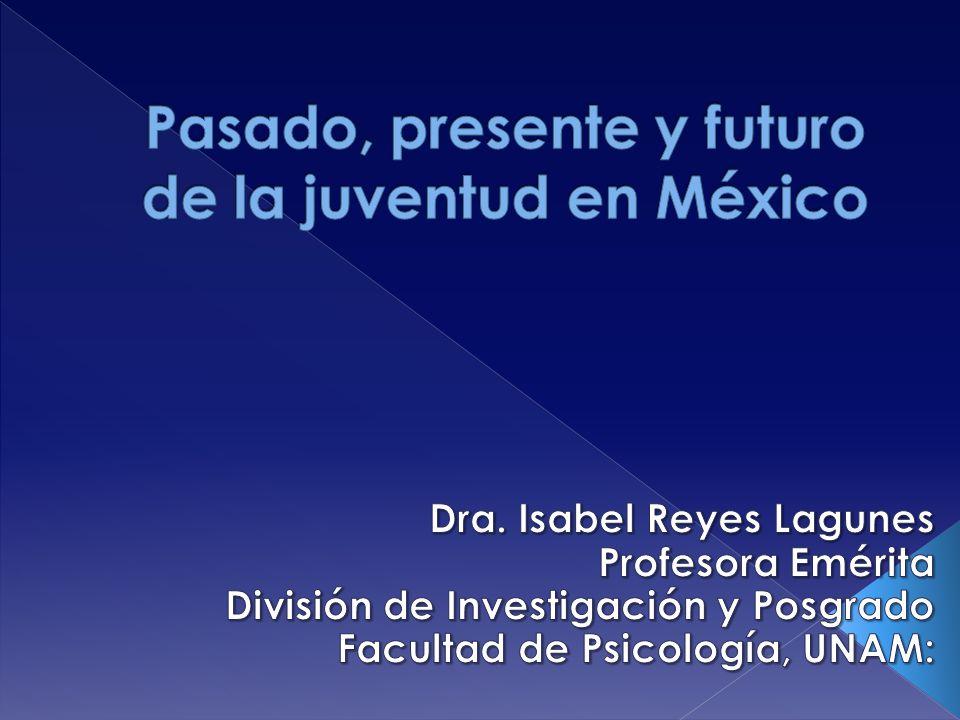 Pasado, presente y futuro de la juventud en México