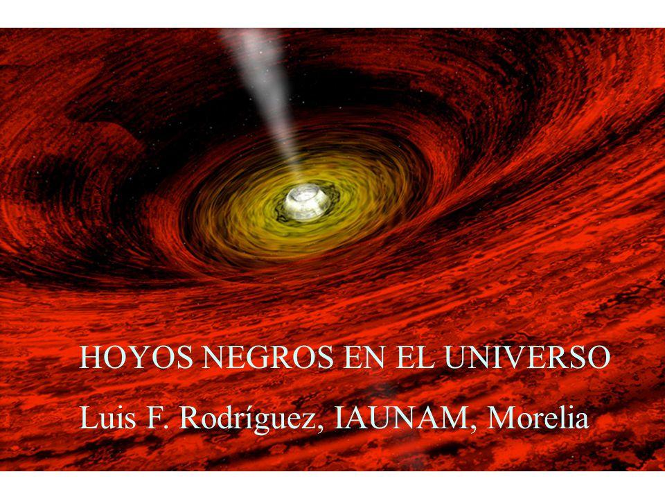 HOYOS NEGROS EN EL UNIVERSO