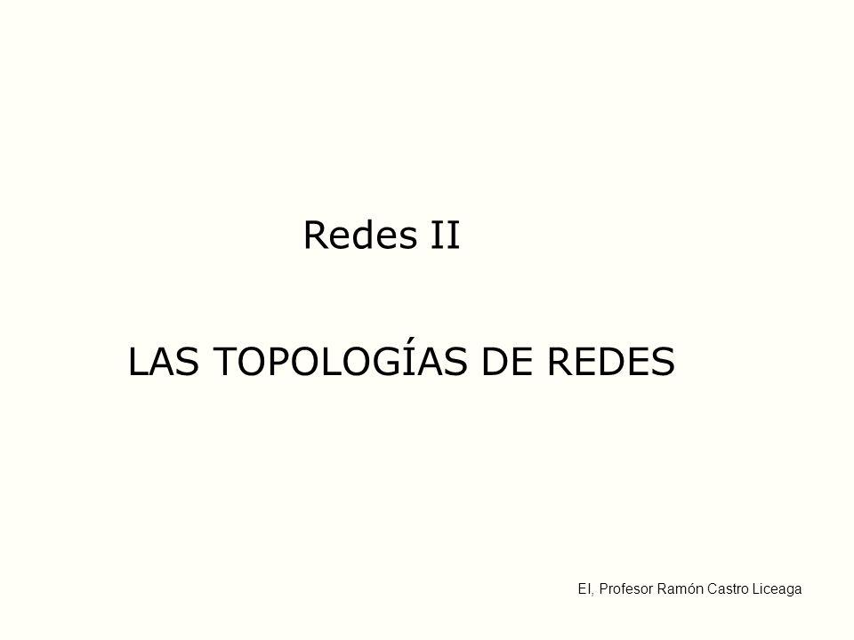 LAS TOPOLOGÍAS DE REDES