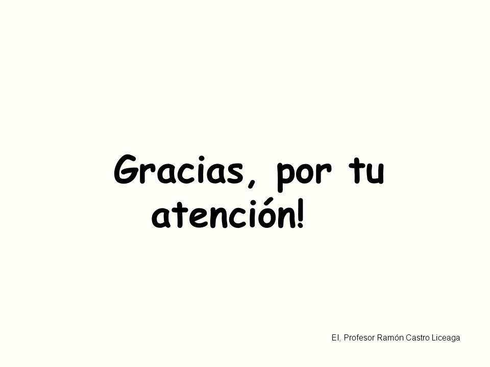 Gracias, por tu atención!